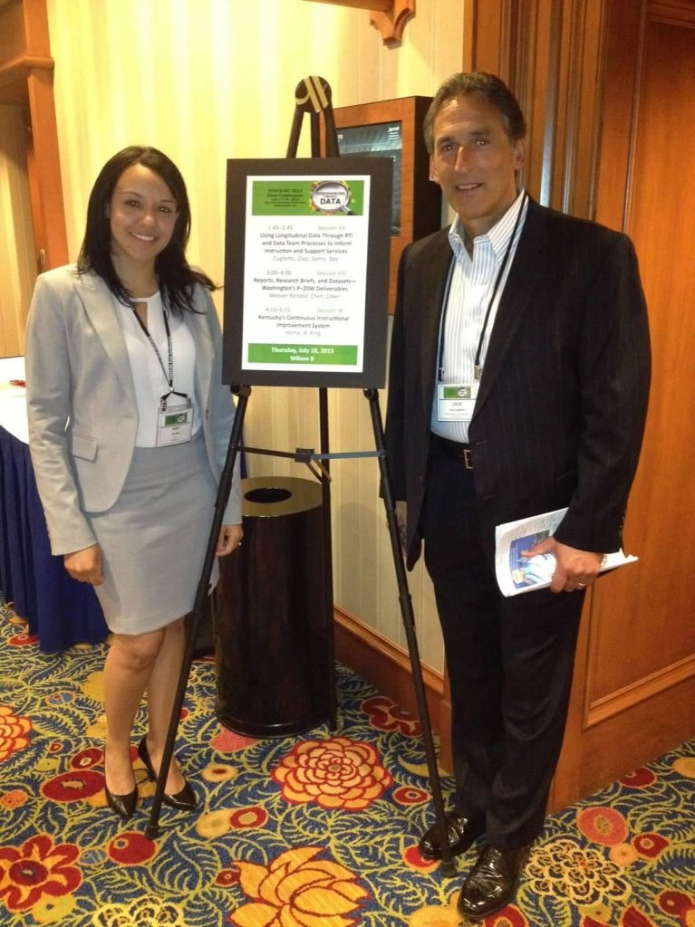 John F. Kennedy Magnet School Assistant Principal Judy Diaz and Principal Louis Cuglietto described their school's innovative RTI process at an NCES conference.