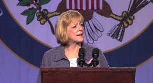 screenshot of Deb Delisle, Assistant Secretary of Elementary and Secondary Education, U.S. Department of Education,