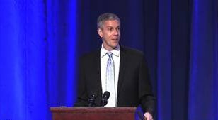screenshot of U.S. Secretary of Education Arne Duncan